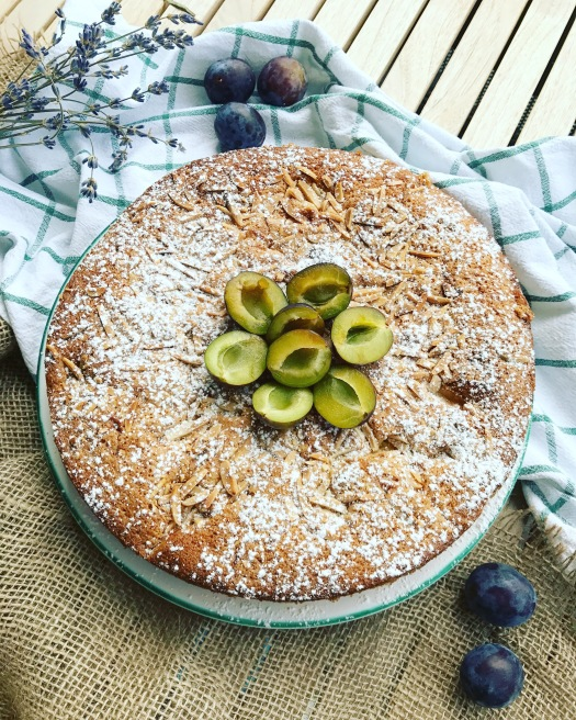 Zwetschgen Apfel Kuchen Chez Simonemarie