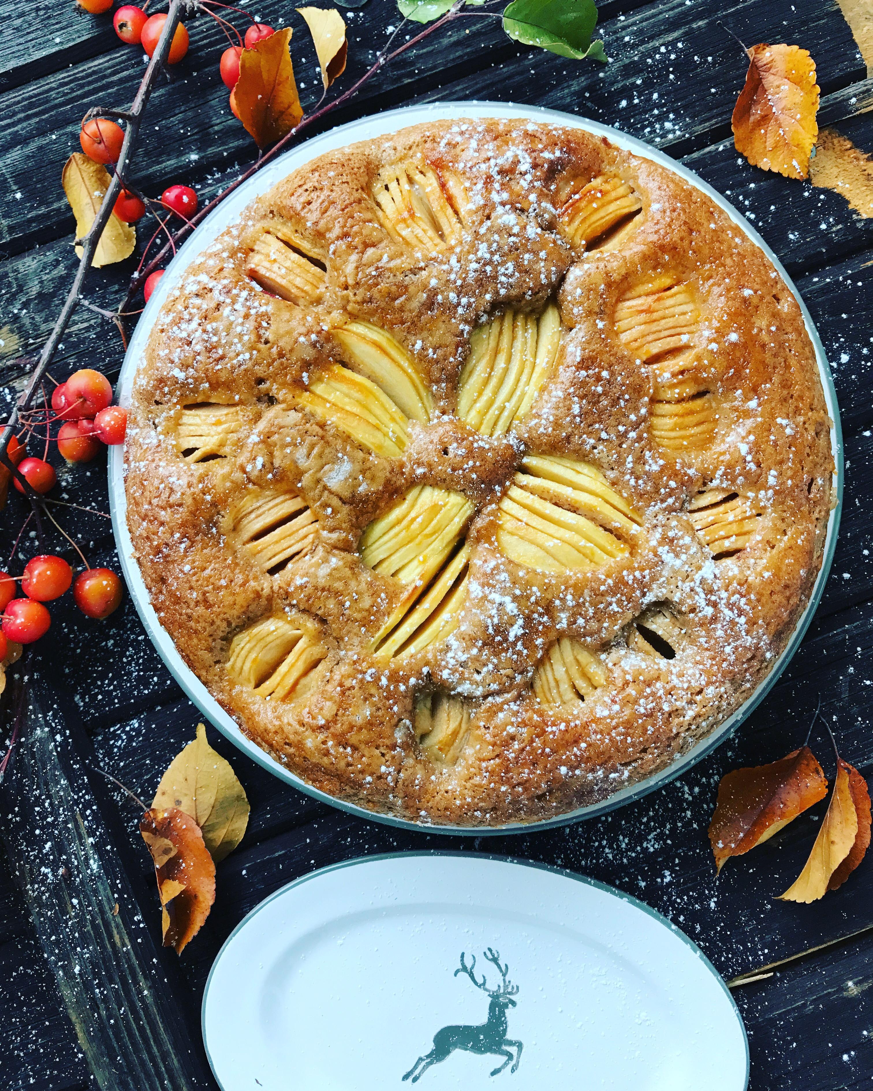 Apfel Dinkel Kuchen Chez Simonemarie
