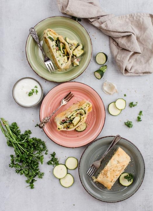 Zucchini Strudel