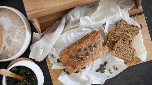 Dinkel Kürbis Brot