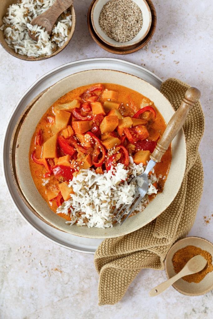 Tomaten Kürbis Curry