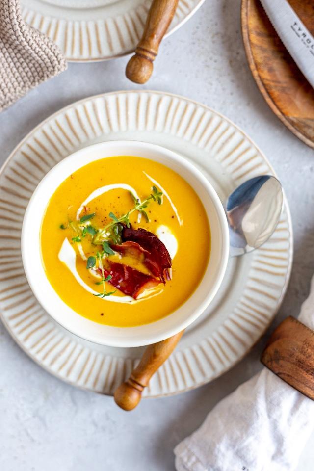 Karotten Orangen Suppe